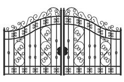 Pacific Design Gate Grills, for Home