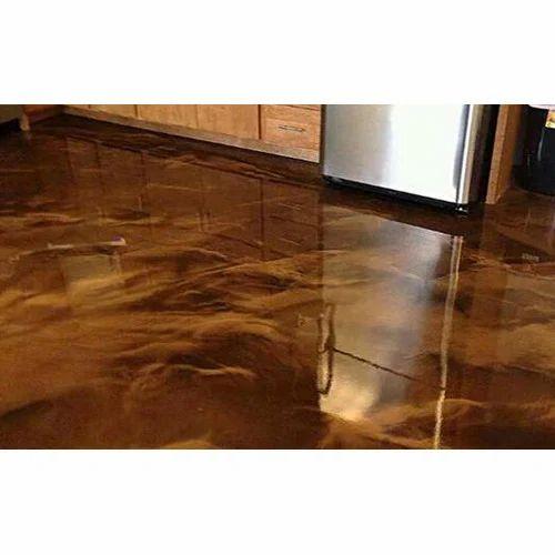 Epoxy Metallic Flooring Service