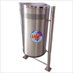 Outdoor Stainless Steel Dustbin