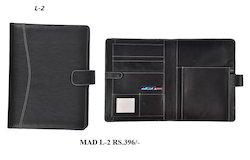 Folder With Credit Card Holder