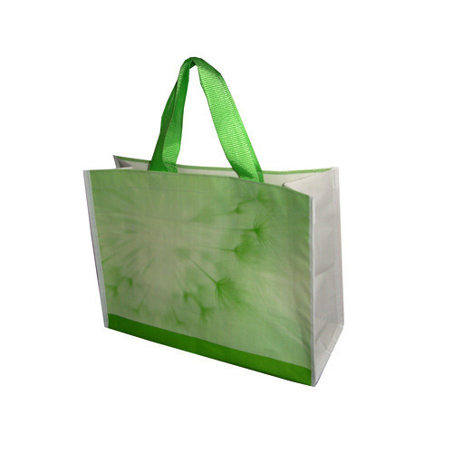 Green Printed PP Bags