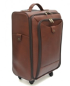 Leather Cabin Trolley Bag