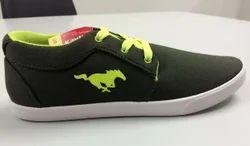 Kayvee footwears Daily Wear Plain Canvas Shoe For Men