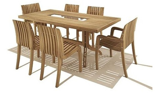 Stylish Wooden Dining Chair Set