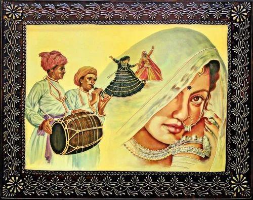 Rajasthani Wall Art at Rs 1500 /piece | Ambika Nagar | Jodhpur | ID ...