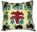 Jogi Patch Figure Cushion Cover