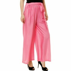 Women's Clothing 2019 Latest Design Ladies/girls Silk Trousers