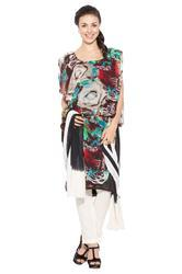 Designer Indo Wester Stylish Long Kurta Ladies Kurti