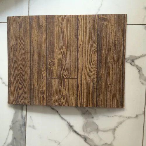 Brown Homesteader Hardboard Wall Panel
