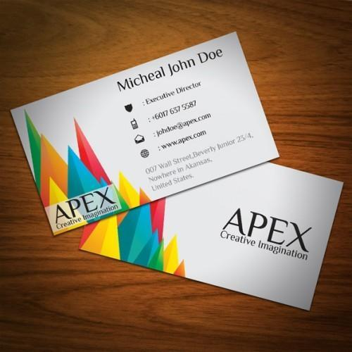 Visiting card printing services printed office visiting card multi color visiting cards reheart Gallery