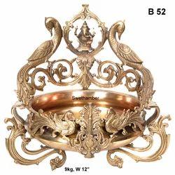 Bronze Ganesh Urli