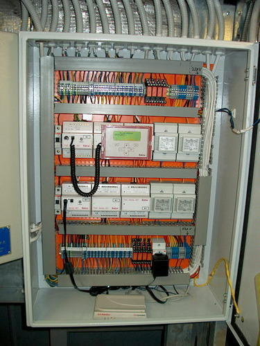 Hvac Control System : Hvac control panel view specifications details of