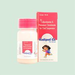 Cefpodoxine & Potassium Clavulanate Oral Suspension