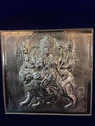 Pure 916 Gold Sheet Durga Matha