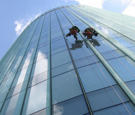 Automatic Facade Cleaning Service High Rise Facade