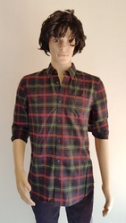 Plain And Embroidered Men's Casual Shirts