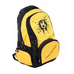 Yellow And Black School Bags