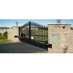 Auto Swing Entrance Gate