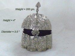 White Metal Box - Jewellery