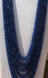 Blue Sapphire Round Beads