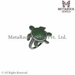 Chrome Diopside Gemstone Ring Jewelry