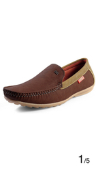 Feetway Brown Loafers