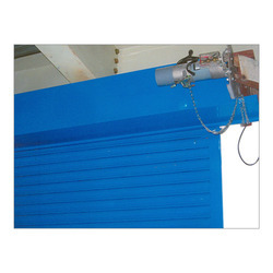 Half Height Motorized Rolling Shutter