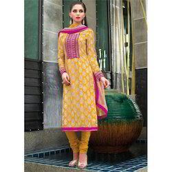Silk Salwar Kameez in Lucknow, Uttar Pradesh | Suppliers, Dealers ...
