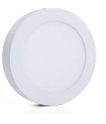 Aluminium LED Surface Panel Light, 220 V, Shape: Round