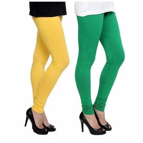 168b055306aeb Cotton Stretch Churidar Leggings at Rs 150 /piece | Women Legging ...