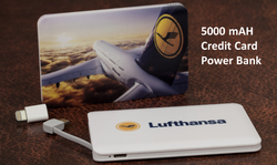 Credit Card 5000 mAh Power Bank