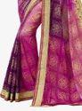 Bandhej Saree