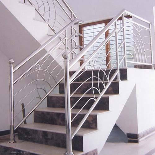 Delightful Stairs Grills   Designer Stainless Steel Stair Grill Manufacturer From  Bengaluru