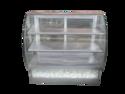 Glass Design Bend Display Counter