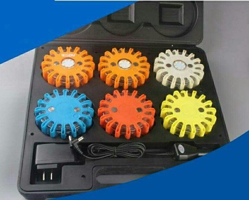 High Power Rechargeable Flare LED Safety Warning Light
