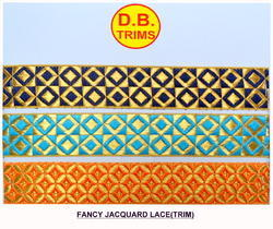 Fancy Multi Jacquard Lace (Trim)