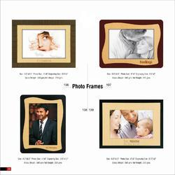 Plastic And Wooden Photo Frames