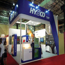 Corner Exhibition Stands Xl : Exhibition booth at best price in india