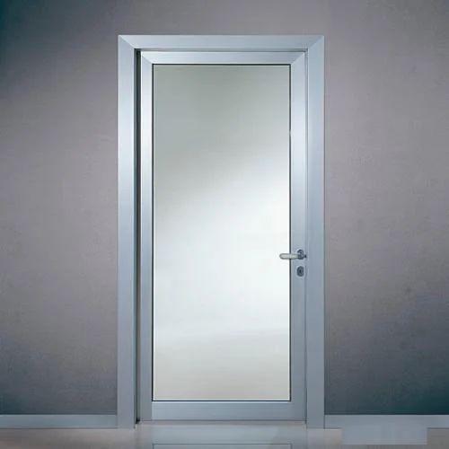 Aluminum Single Glass Door Alu Glass Enterprises Wholesale