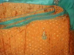 Contrast Silk Sarees