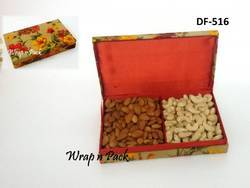 Floral Dry Fruit Box