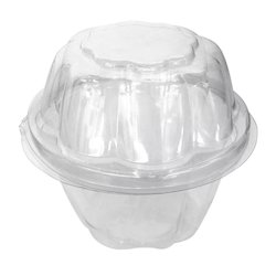 Plastic Transparent Packing Boxes - Mita Cupcake Folding Box