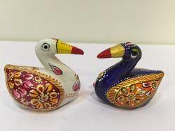 Duck Set Meena Work Animal Statues