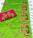Sana Silk With Embroidery Sarees