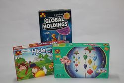 Playing Board Games Boxes