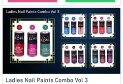 Ladies Nail Paints Combo