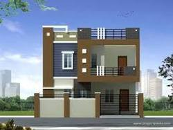 Two floor house elevations in hyderabad