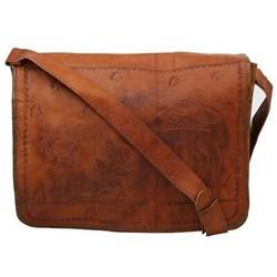 Genuine Leather Messenger Bag MESS109