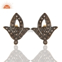 Pave Diamond Studs Earrings Jewelry