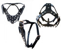 Leaher Dog Body-harness With Spike